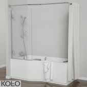 Set baths Comfort Plus TM KOLO with glass curtains and soft