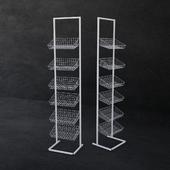 Universal mesh rack