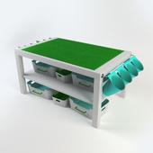 DIY Lego table - Ikea Lack
