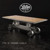 Обеденный стол Train-crank-table