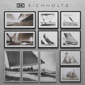 Eichholtz Set of  Boat Prints