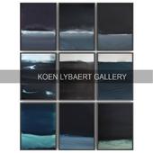 Paintings by Koen Lybaert   set 3