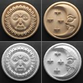 Декор Солнце и Луна