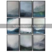 Paintings by Koen Lybaert   set 6