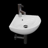 Corner washbasin Kolo Runa