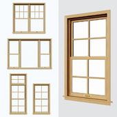 Подъемные окна\Double hung\Sliding sash