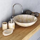 Washbasin marble mini