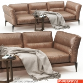 Flexform Adda sofa set