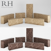 Geometric Cabinets Restoration Hardware