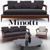 Minotti Virginia Indoor set
