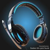 Headphones Sades SA-902