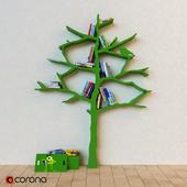 Children's tree bookcase