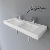 Double sink Jacob Delafon Odeon Up