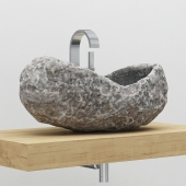 Stone sink bathroom
