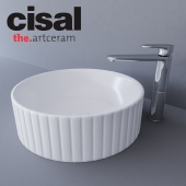 Sink Artceram Millerighe and Cisal LineaViva