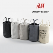 Basket for clothes H&M