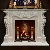 Antique Rococo Fireplaces - Louis XV
