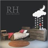 RH / Thayer Platform Bed