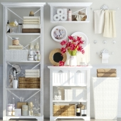 Shelving in the bathroom 4