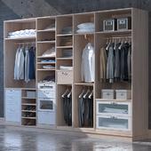 Набор одежды  и обуви для шкафа