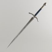 Glamdring - the sword of Gandalf the Gray