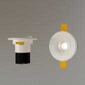 Recessed luminaire DS-037B60