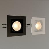 Recessed luminaire DS-030B60 QUATTRO x 1