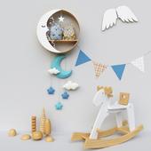Toys, decor for children