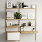 Система полок Svalnas Ikea.