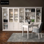 Selva bookcase Mirabeau set sections02