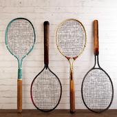 Dayton 1920s Metal Tennis Rackets