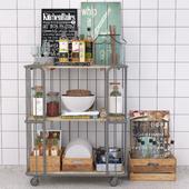 Kitchen trolley. Kitchen Island, Kitchen Cart