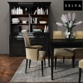Selva Dining room set 02