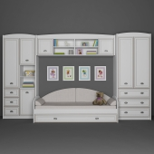 Furniture for children Salerno Gerbor. Part 1