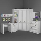 Мебель для детской Salerno Gerbor. Часть 2