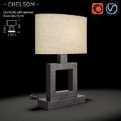 Chelsom Quad Table QU 101 BZ
