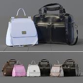 Business leather bag Dr.Koffer + women's bag Dolce Gabbana