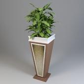 Кашпо Магнат с растением