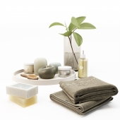 Spa decorative set