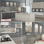 "Kitchen ""Tuscany Grigio"" by Enlie"