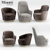 Minotti Jacques Armchairs collection