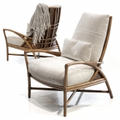 Mcguirefurniture PETAL LOUNGE CHAIR