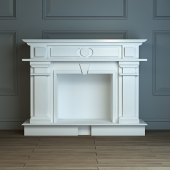 Decorative fireplace, fireplace