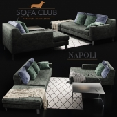Диван Cristal Sofa Club Green