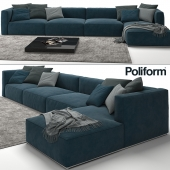 Sofa Poliform Shangai