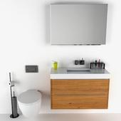 Corian Bathroom Set