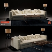 "Sofa ""Beauty"" by Flexform"