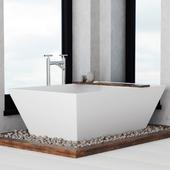Bathroom on the pebble