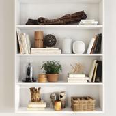 Filling for shelves