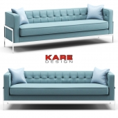 Kare Sofa Loft 3-Seater